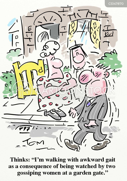 stroll cartoon