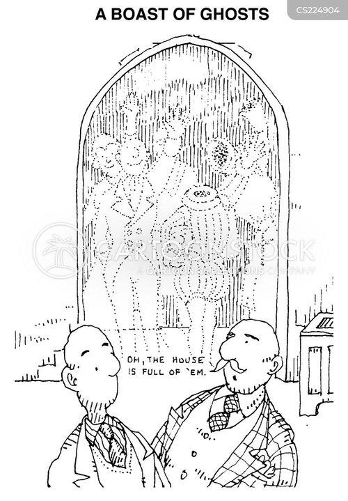 unexplained cartoon