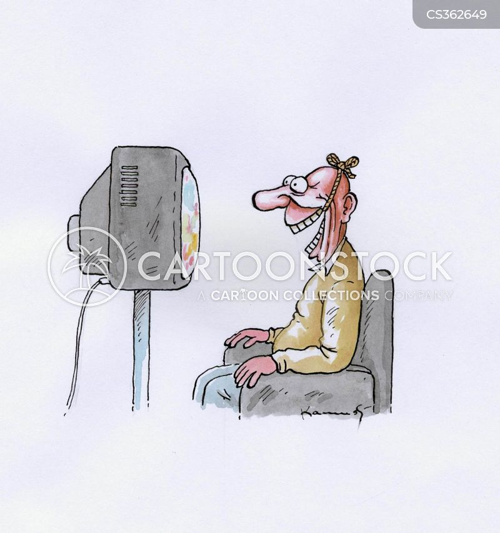 grinning cartoon