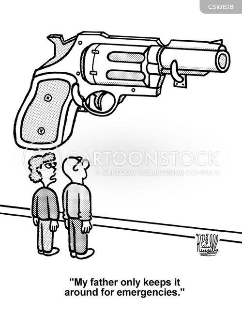 gun regulation cartoon