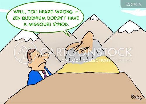 lutheranism cartoon