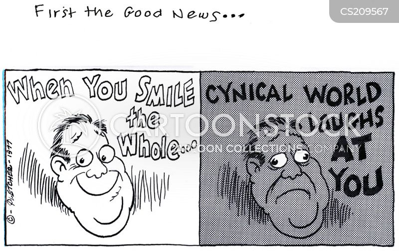 cynicism cartoon