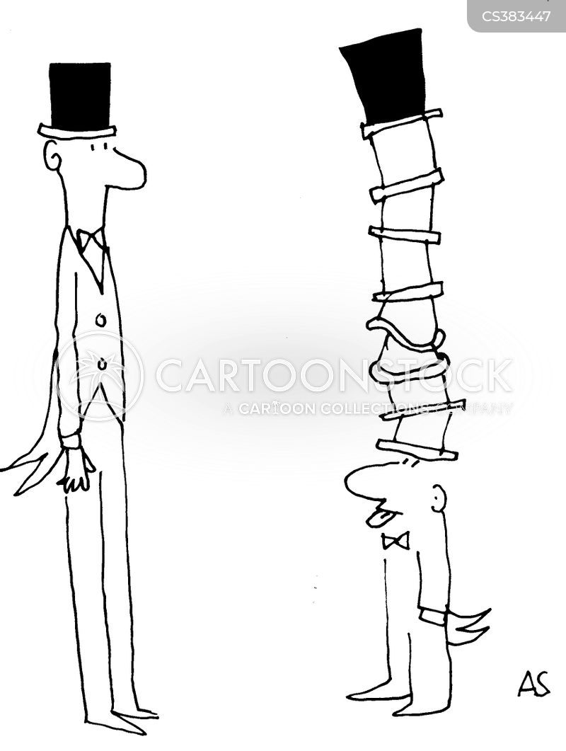 short men cartoon