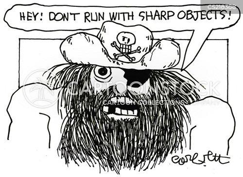 eyepatch cartoon