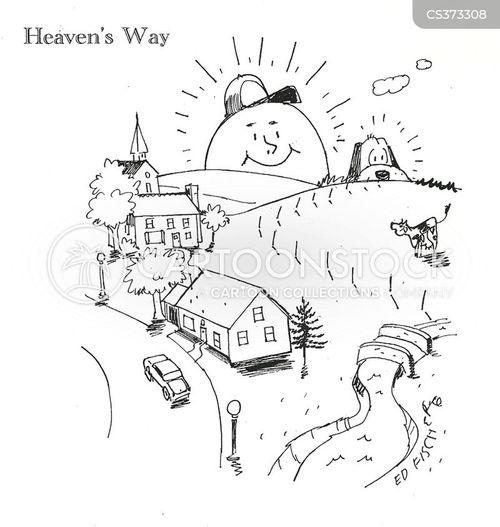 cheerfully cartoon