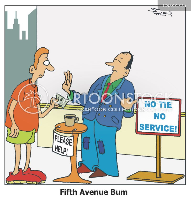 fifth avenue cartoon