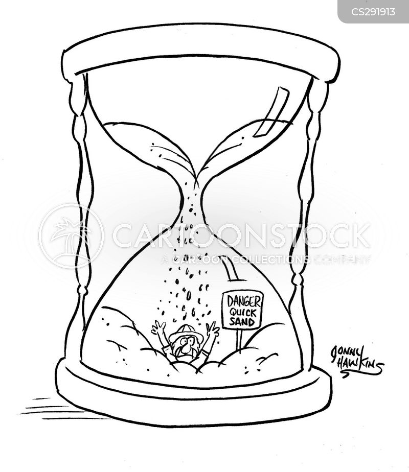 hour glass cartoons and ics funny pictures from cartoonstock Hourglass Detail man in hourglass is falling through quicksand