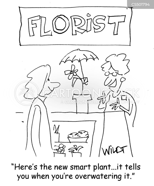 green thumbed cartoon
