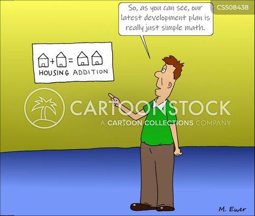 housing shortages cartoon