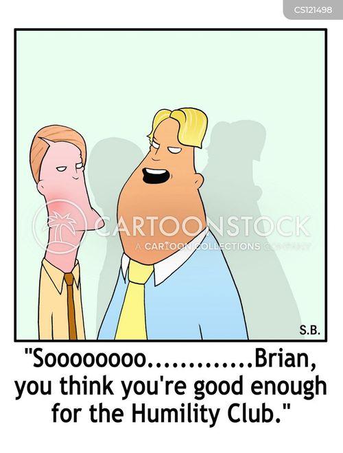 modestness cartoon