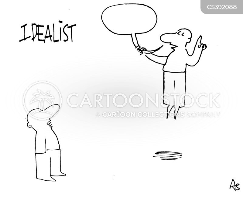 idealists cartoon