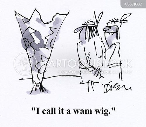 wig wam cartoon