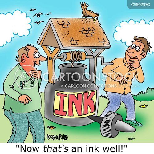 ink well cartoon