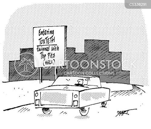 twin town cartoon