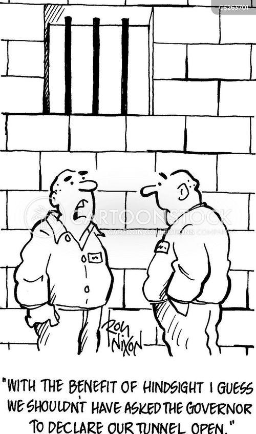 prison governor cartoon