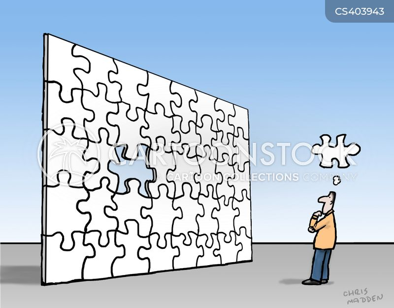 jigsaw puzzle cartoon
