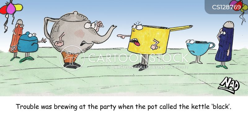 teapots cartoon