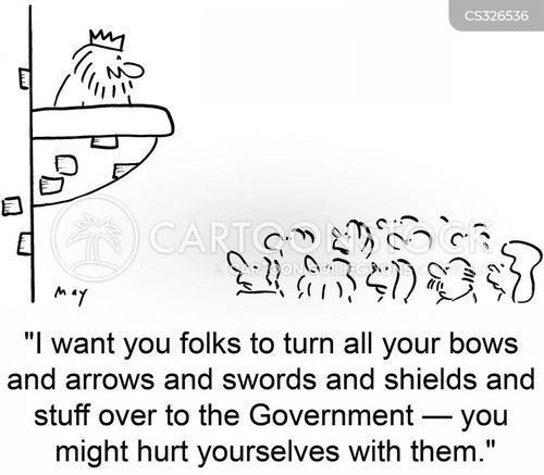shield cartoon