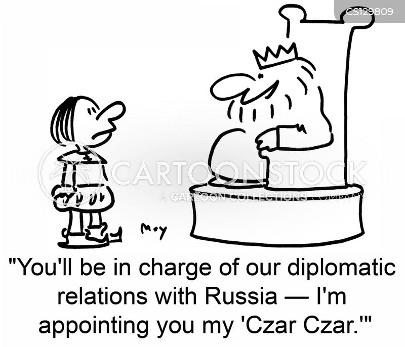foreign diplomats cartoon