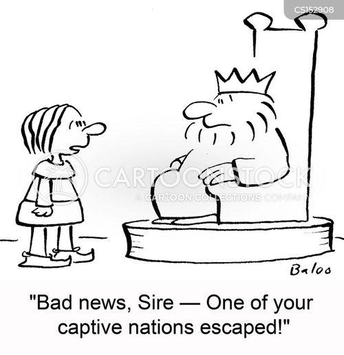 captive nations cartoon