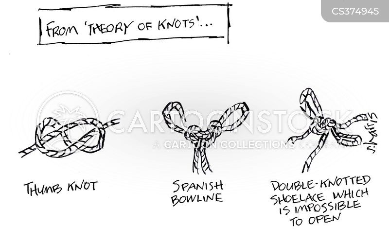 knotted cartoon