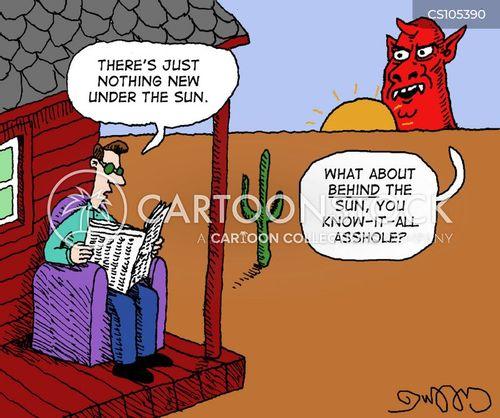 know it alls cartoon