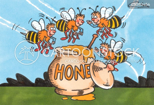 honey pot cartoon