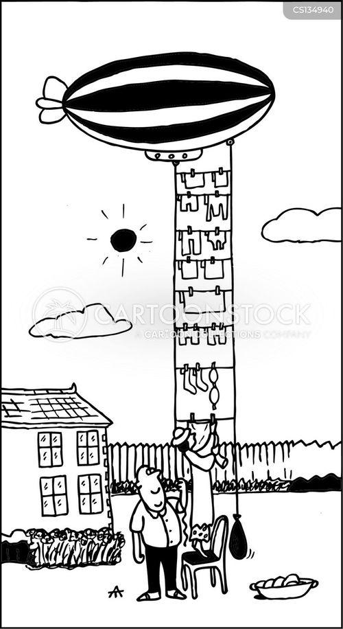 zeppelin cartoon