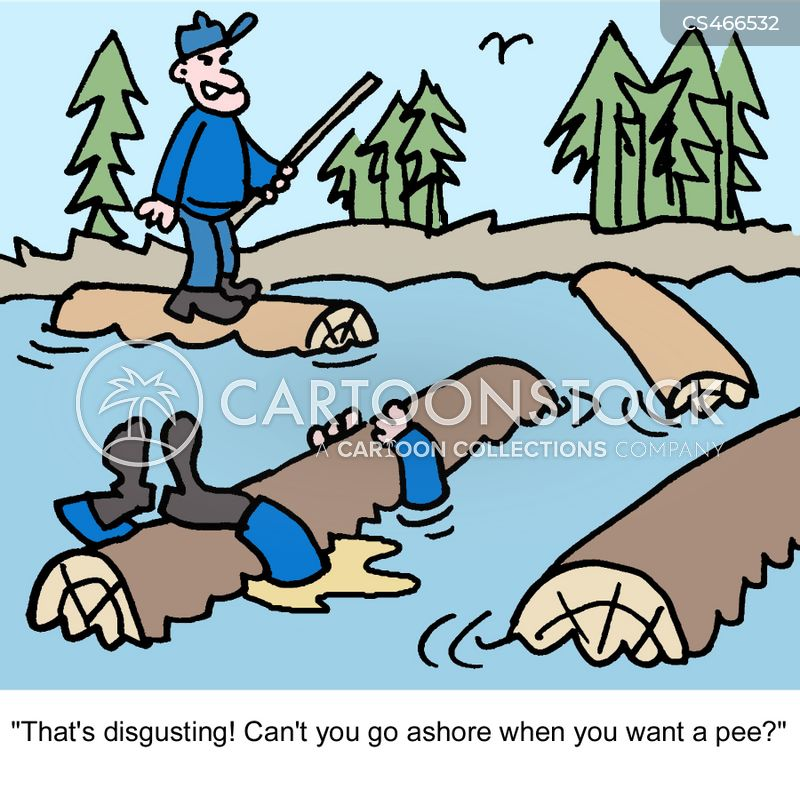 woodsman cartoon