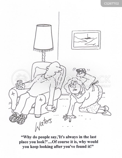 lost item cartoon
