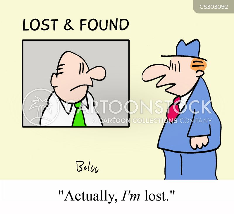 lost and founds cartoon