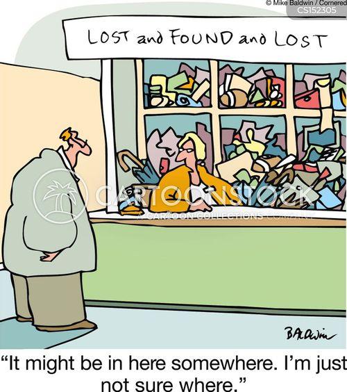 unorganized cartoon