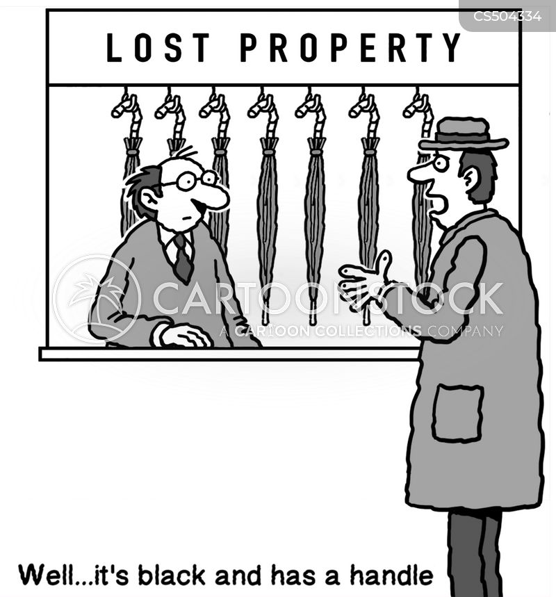 missing property cartoon