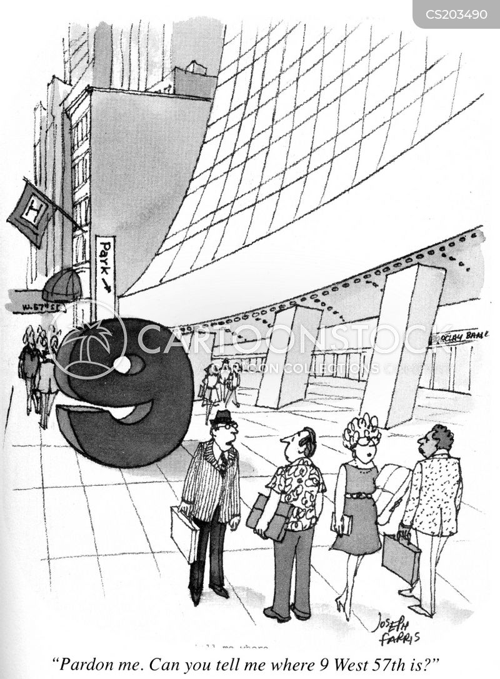 stupid man cartoon