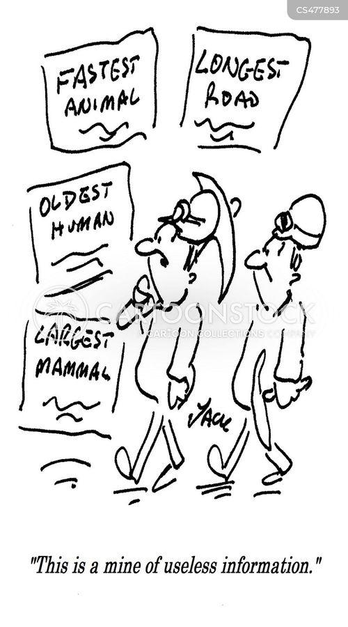 useless facts cartoon