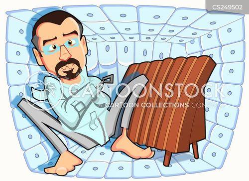 padded cell cartoon