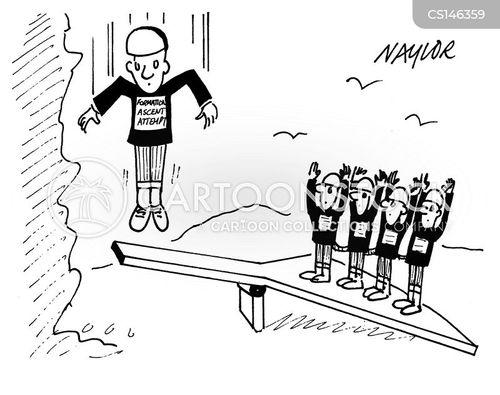 catapulted cartoon