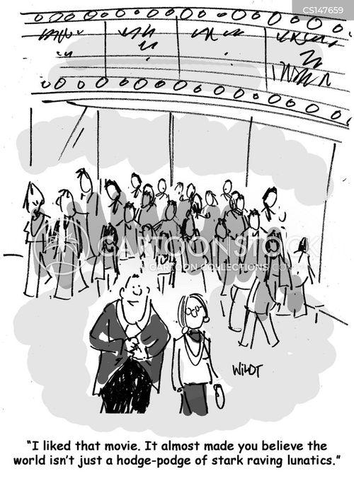 world event cartoon
