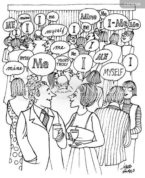 making small talk cartoon