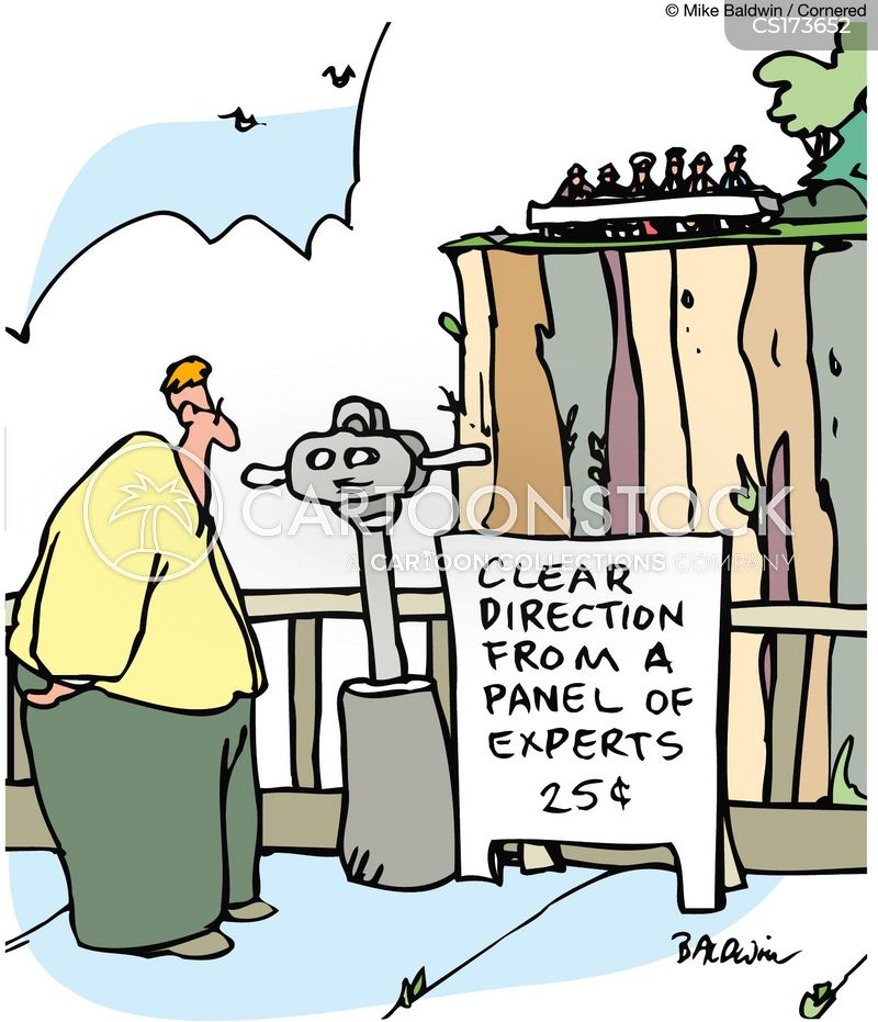 binoculars cartoon
