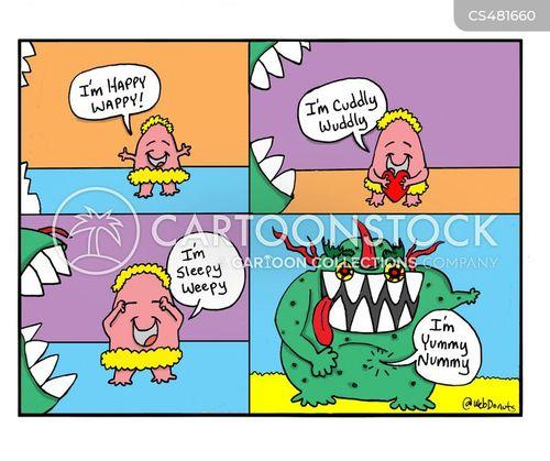 yummy cartoon