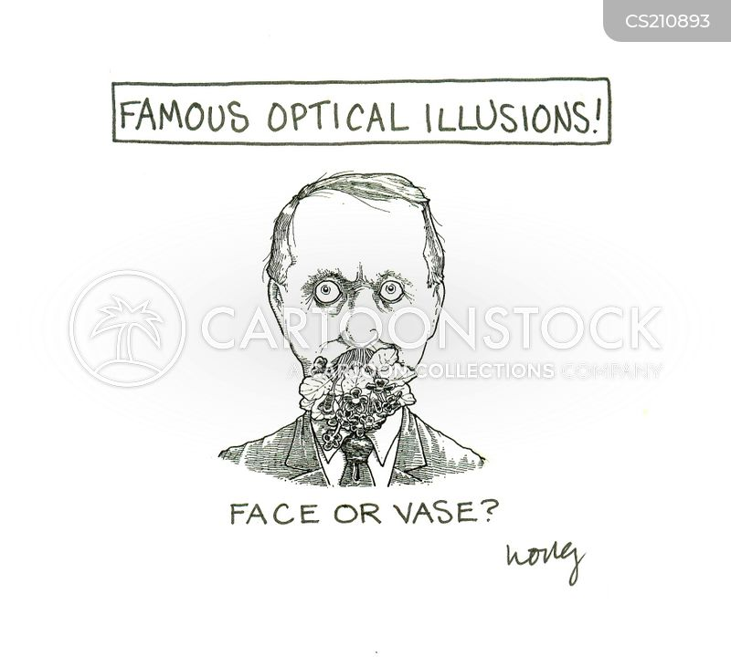 Famous Optical Illusions Cartoons And Comics Funny Pictures From