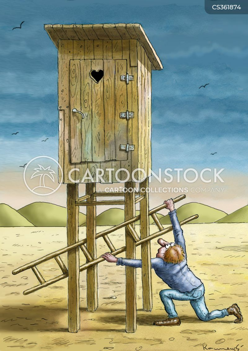 Terrific Outhouse Cartoons And Comics Funny Pictures From Cartoonstock Largest Home Design Picture Inspirations Pitcheantrous