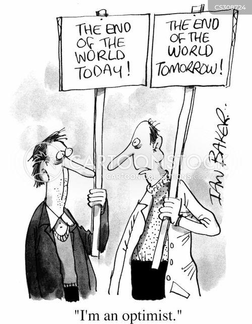 optomist cartoon