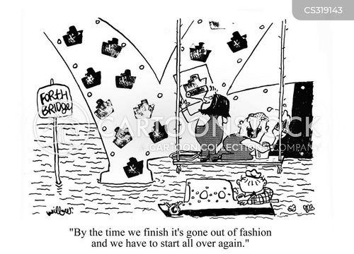 out of fashion cartoon