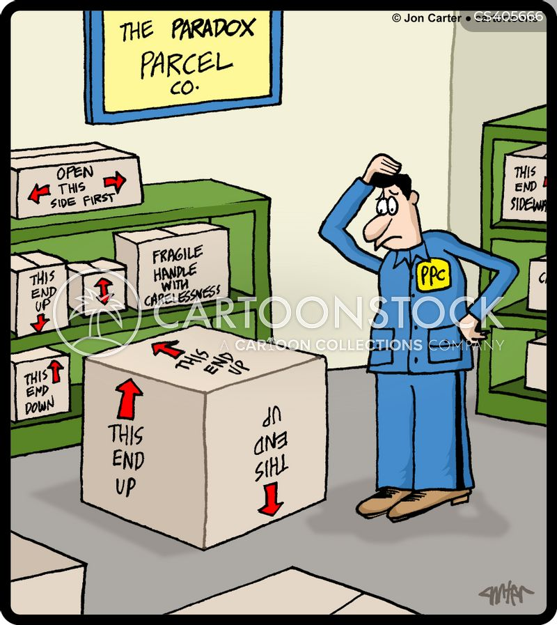 Paradox Cartoons And Comics Funny Pictures From Cartoonstock
