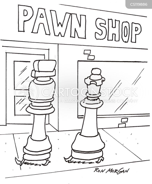 chess set cartoon