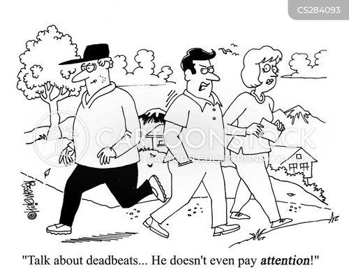 deadbeats cartoon