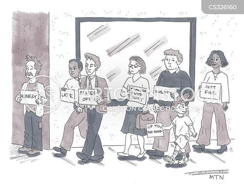ordinary people cartoon