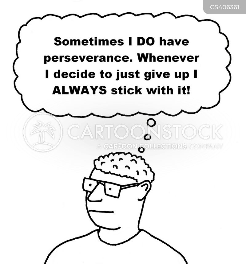 persevere cartoon